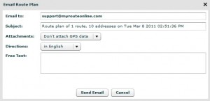 Email to iPhone