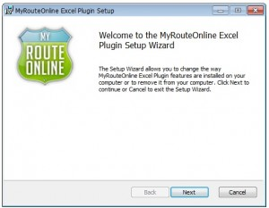 Welcome to MyRouteOnline