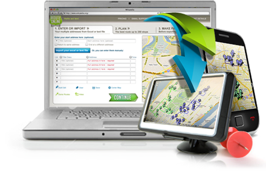 Plan a route with MyRouteOnline and drive with your TomTom GPS