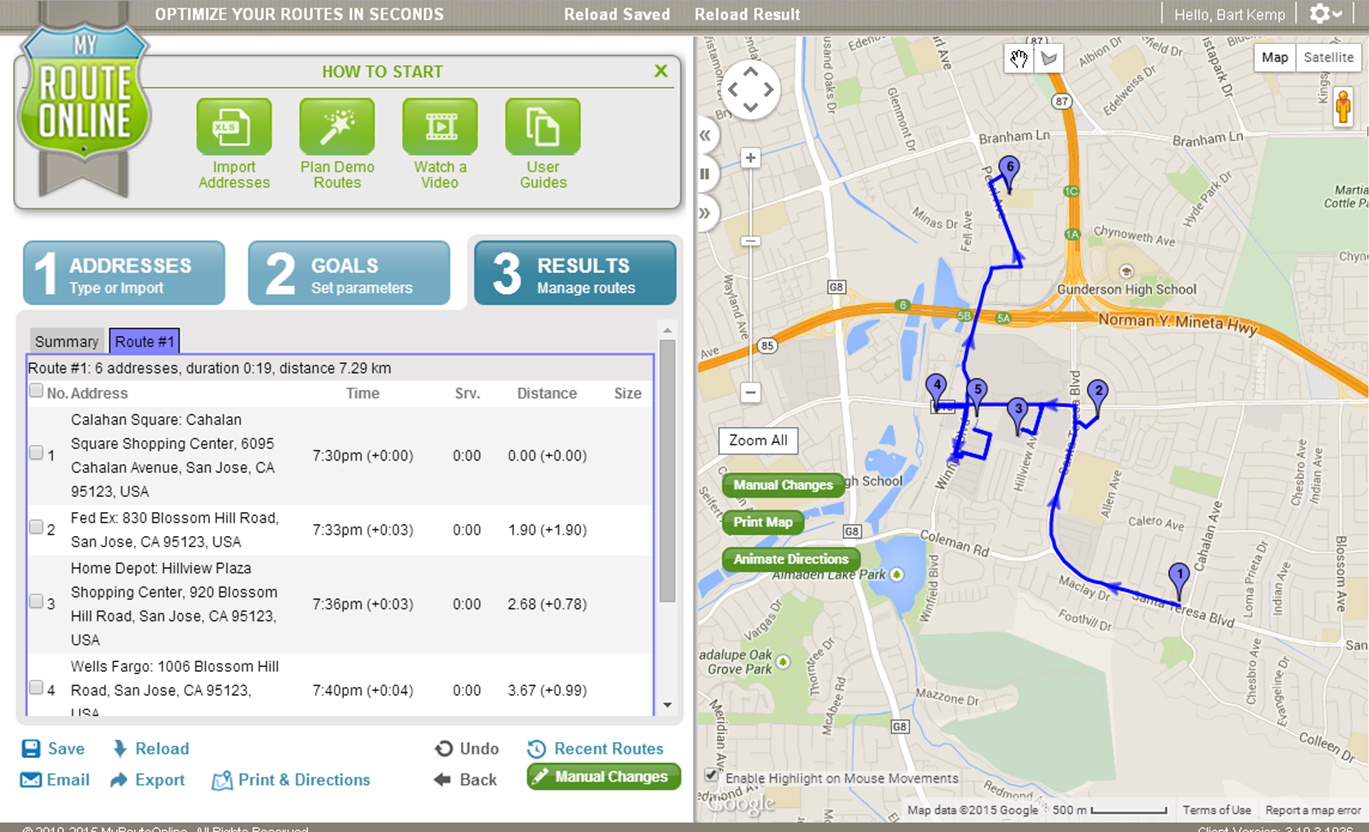 Myrouteonline route planner integration with tomtom telematics myrouteonline and tomtom telematics gumiabroncs Gallery