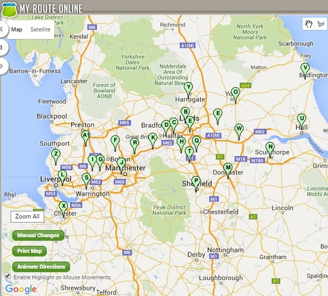 Route Planner UK - Use Our journey Planner to Cut Off Costs