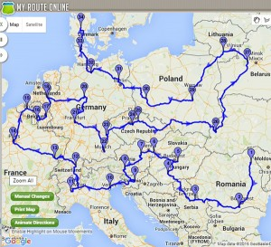 International Route Planner - solution