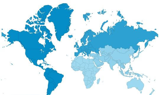 MyRouteOnline users all over the world