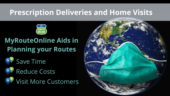 Route Planning Aids in Prescription Deliveries and Home Visits