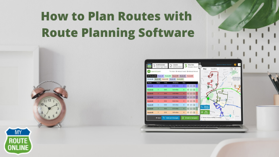 How to Plan Routes with Route Planning Software