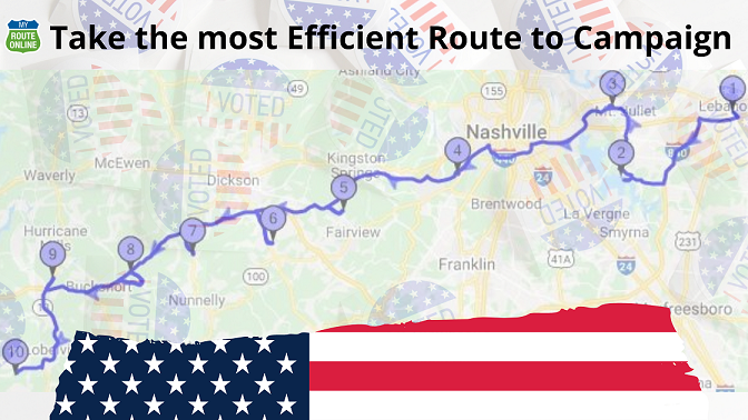 Take the most Efficient Route to Campaign